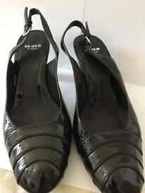 Lovely patent leather shoes used
