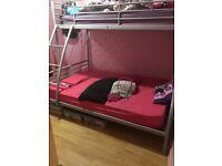 Trio bunk bed quick sale