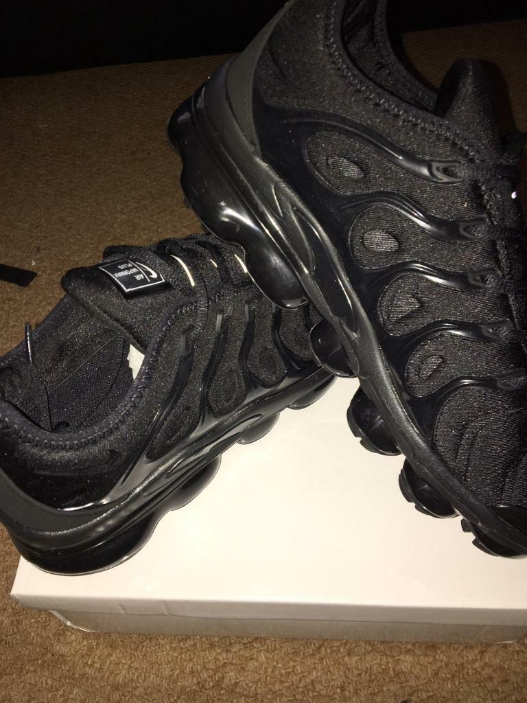 a35d301dc7 SIZE 6 7 8 9 10 BRAND NEW NIKE VAPORMAX PLUS BOXED TRAINERS BLACK (NOT) tn  90 110 95 97 AIR