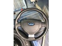 Fiesta st steering wheel