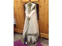 Asian party gown dress