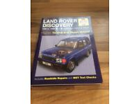 Landrover Discovery Haynes Manual