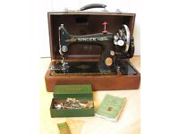 Singer 99 sewing machine 1950.