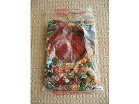 Quilted Soft Plush Peg Bag Laundry / Washing Line Accessory Woodland Animal Theme Fox Badger Deer