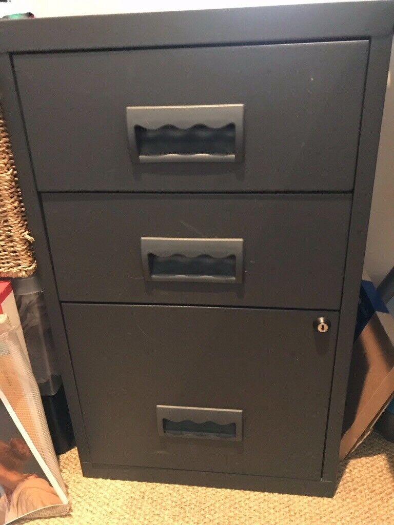 Filing Cabinet Under Desk
