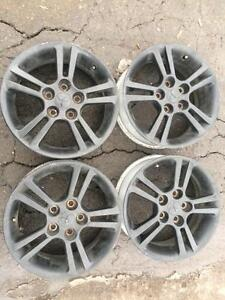 4 mags 16 pouces mitsubishi 5x114.3