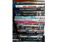 Joblot DVDs & Blu Ray discs