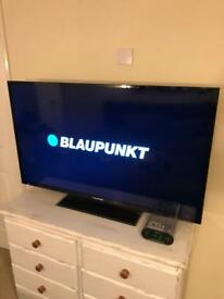 "50"" LED Blaupunkt HD TV Freeview"