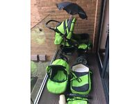 Baby Merc S7 Pushchair with all Accessories ( Excellent condition) Hardly Used