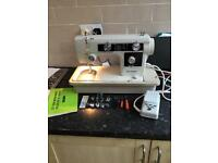 NEW HOME HEAVY DUTY SEWING MACHINE MODEL 632 JANOME
