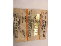 Vintage Belfast NIRVANA Concert Ticket