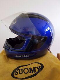 Suomi crash helmet blue size S