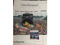 Events Management by Glenn Bowdin