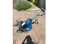 Push along mower new