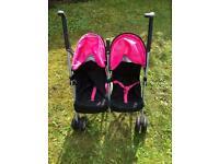 Children's double play pushchair