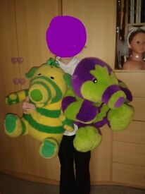 Fimbles - Extra Large 40cm Singing and Talking Fimbo and Roly Mo **RARE** £20 each