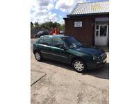 Rover 25 2003, 12 months MOT