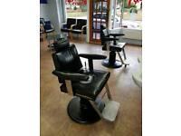 2 X Belmont Barbers Chair