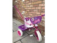 Raleigh Molly Trike with removable push handle.