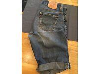 Levi 506 shorts - 34 waist