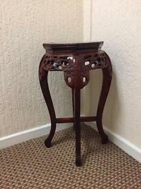 Decorative plant or telephone stand