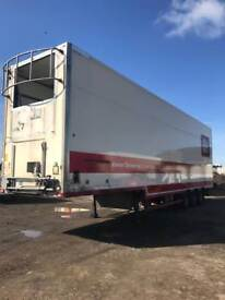 Trailer insulated double deck 2012