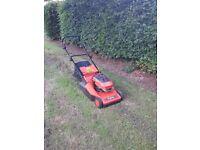 Flymo roller petrol lawnmower for sale