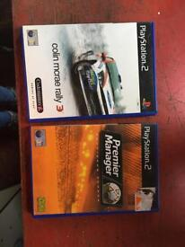 Two Play Station 2 Games