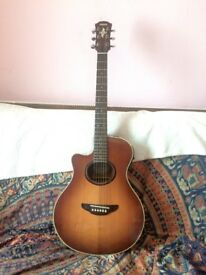 Yamaha APX-5LA electro acoustic guitar, left handed, lefty, LH