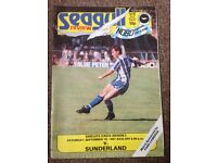 Brighton and Hove Albion programmes 1987