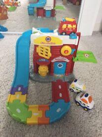 Vtech toot toot fire station