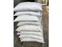 Feather scatter pillow bundle