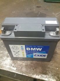 BMW GEL Battery Genuine