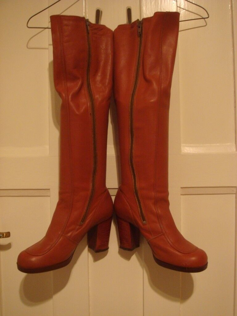 c5436d74fa9 Knee high Leather boots - Tan | in Sutton, London | Gumtree