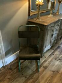 Retro old school chair