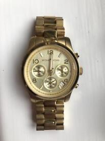 Michael Kors. Ladies Gold Watch.