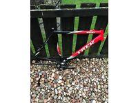 Trek alpha 4100 bike frame