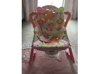 Fisher price infant to toddler rocker bouncer chair