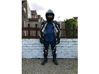 Motorbike leathers full and hamlet