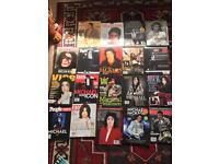 20 x Michael Jackson magazines, paper clippings etc