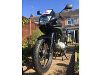 Honda CBF 125, runs perfect, low milage, other accessories included in sale, BARGAIN !