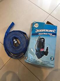 Submersible Pump and Lay Flat hose