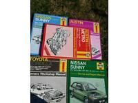 all different car manuals
