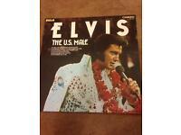 Elvis. The U.S Male. RCA Album. Excellent Vinyl.