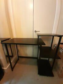 Compact Wayfair Desk with Shelves