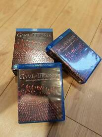 Game of thrones boxset blueray