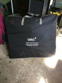 Gelert 5 Shelf Cupboard/Wardrobe - Castle Rock/Charcoal
