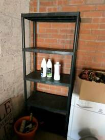 4 tier shelf unit. From b n q