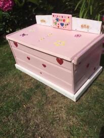 Homemade toy box /seat