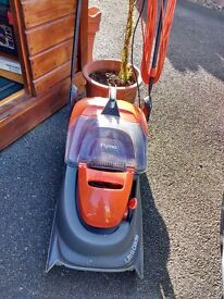 Flymo UltraGlide electric lawnmower hardly used.